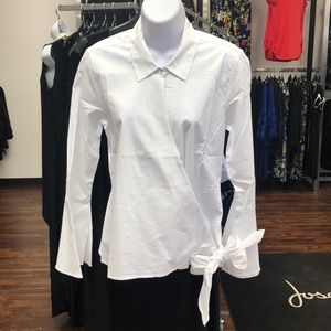 Women's Lottie Side Tie Blouse
